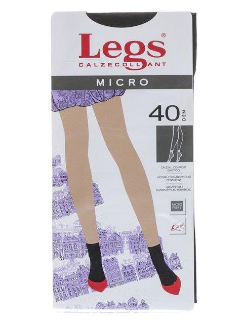 Шкарпетки чорні 40 Den Legs 1895993