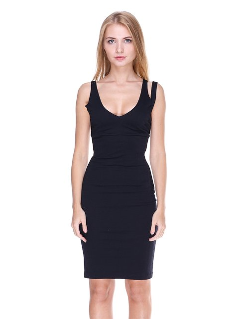 Сукня чорна Stefanel 1902035