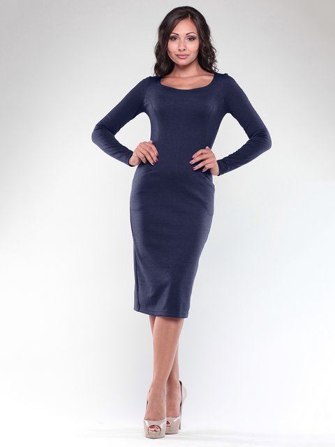 Сукня темно-синя Rebecca Tatti 1898363