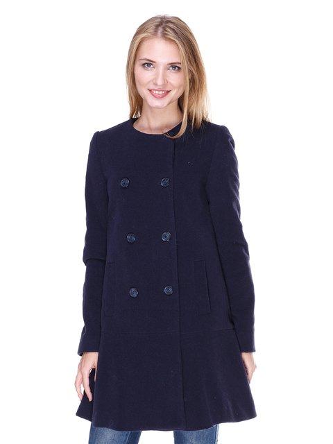 Пальто темно-синє Stefanel 1902107