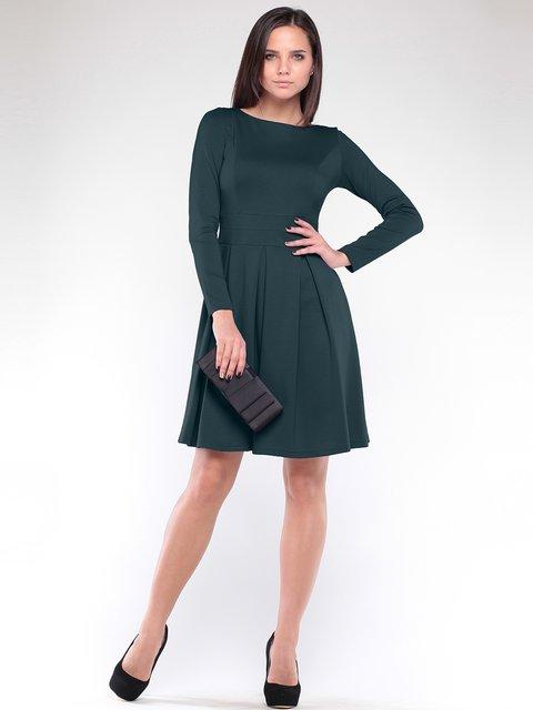 Сукня темно-смарагдового кольору Dioni 1908631
