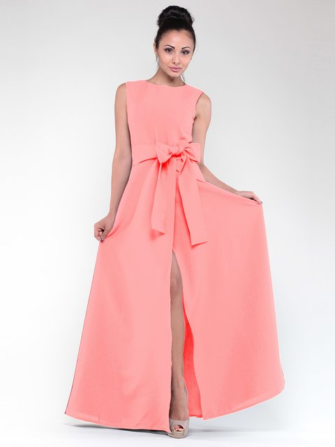 Платье темно-персикового цвета Laura Bettini 1912435