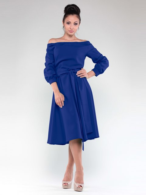 Сукня кольору електрик Laura Bettini 1918709