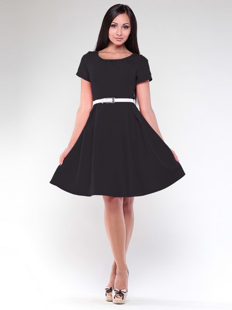 Платье черное Maurini 1927046