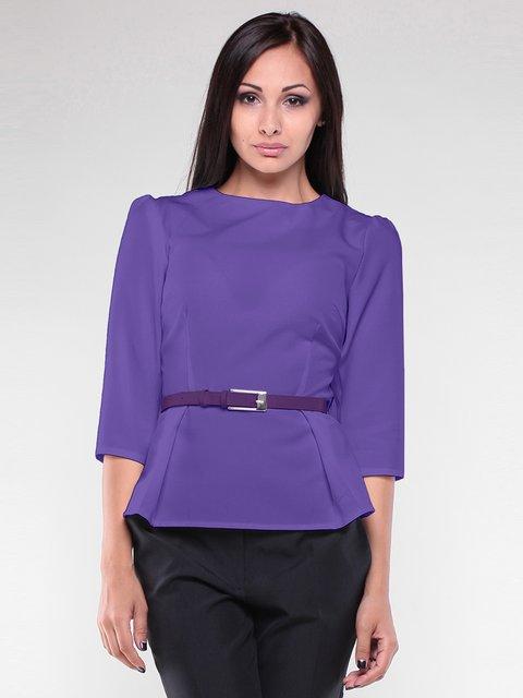 Блуза светло-фиалкового цвета Maurini 1927078