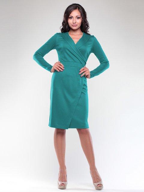 Платье темно-изумрудного цвета Rebecca Tatti 1927928