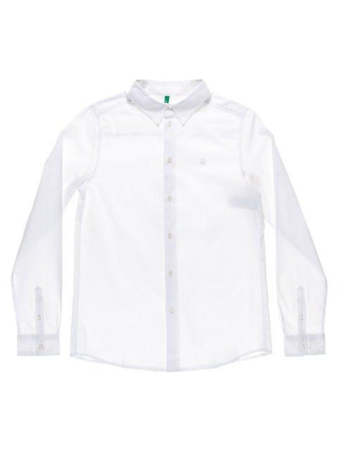 Рубашка белая Benetton 1873327