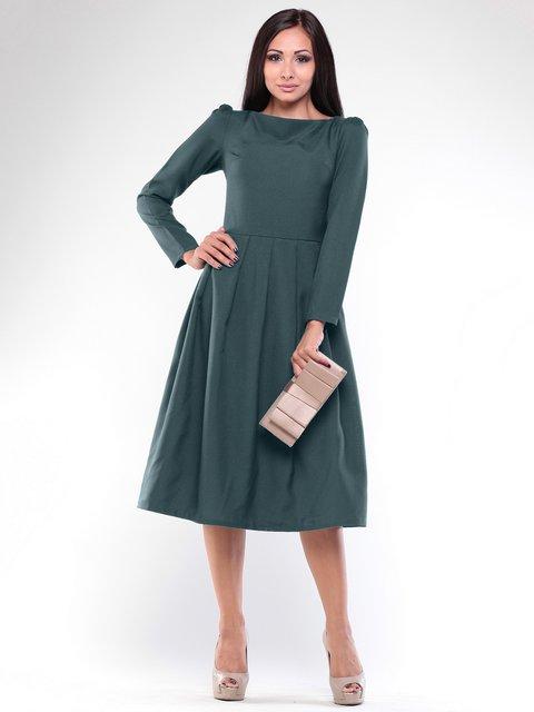 Платье темно-изумрудное Maurini 1935723
