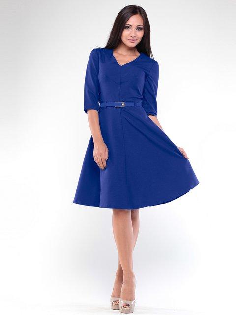 Платье цвета электрик Rebecca Tatti 1935730