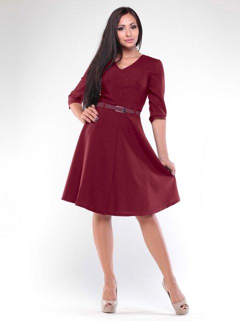 Платье сливового цвета Rebecca Tatti 1935732