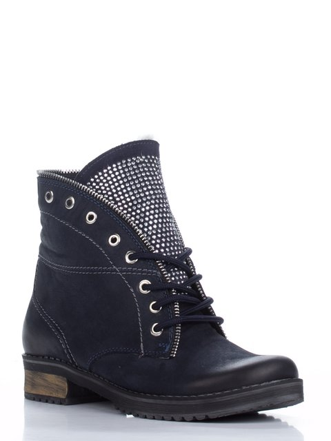 Ботинки синие Максима 1938633