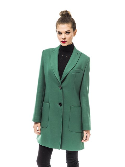 Пальто зелене Trussardi 1938462