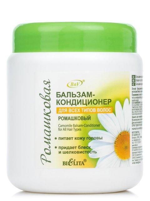Бальзам-кондиціонер ромашковий для всіх типів волосся (450 мл) Bielita 1945705