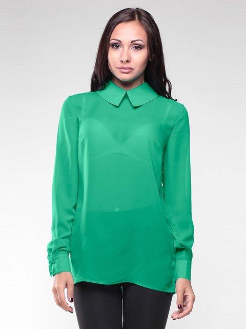 Блуза зеленая Maurini 1959039
