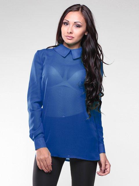 Блуза цвета электрик Maurini 1959040
