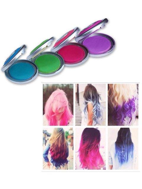 Набор цветных мелков для волос Веселі подарунки 1963292