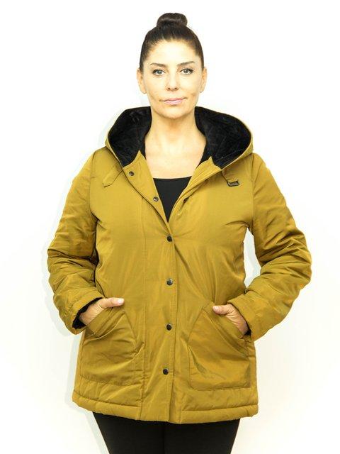 Куртка горчичного цвета Exline 1965262