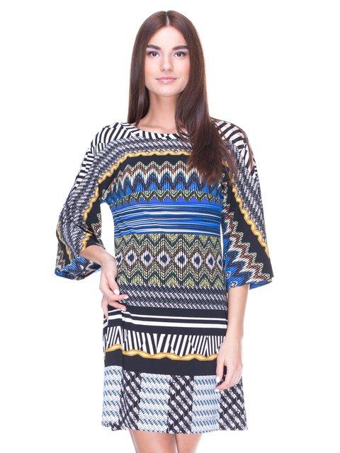 Сукня в різнобарвний принт Andrea Crocetta 1964554