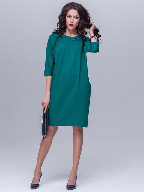 Платье изумрудного цвета Jet 1969045