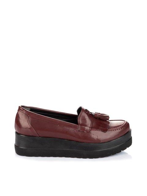Туфли бордовые Pembe Potin 1970208