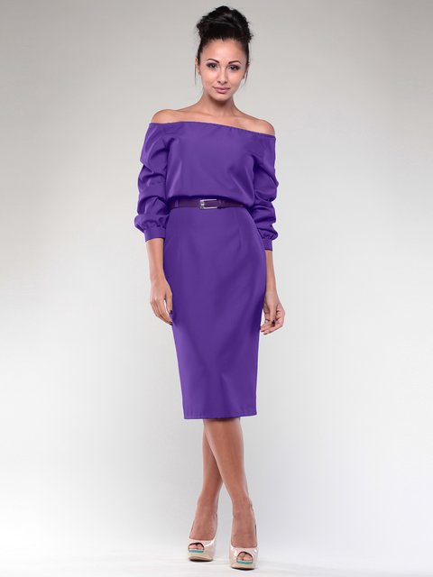 Платье фиалкового цвета Dioni 1970022