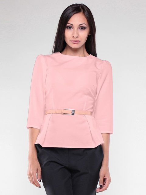 Блуза персикового цвета Maurini 1970157
