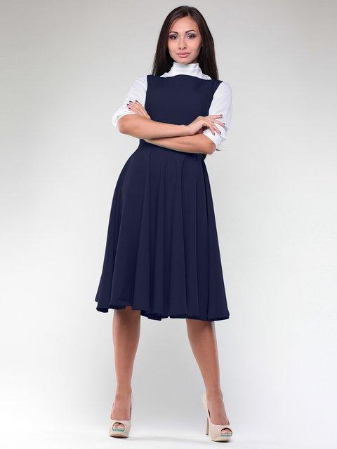 Платье-сарафан темно-синее Rebecca Tatti 1970267