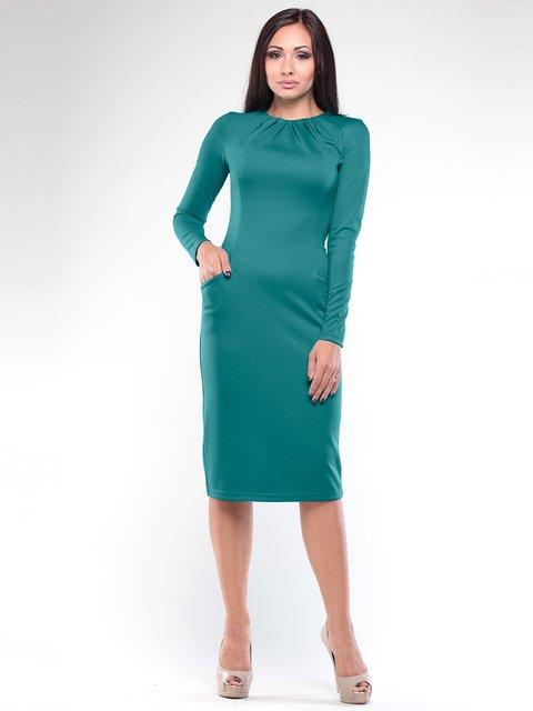 Сукня темно-смарагдового кольору Dioni 1970454