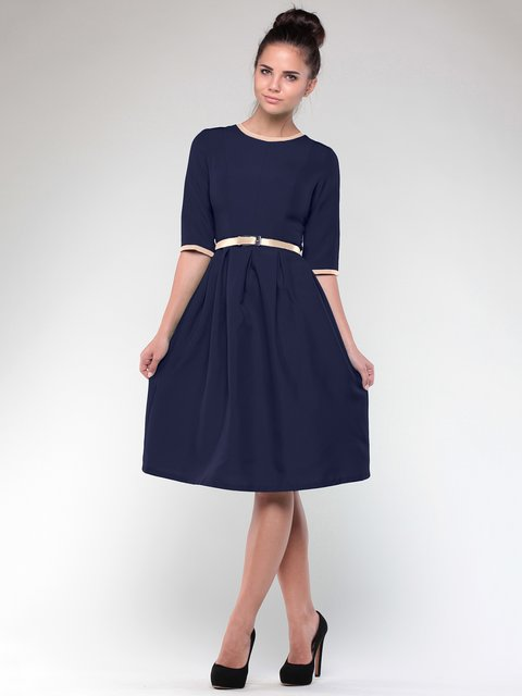 Сукня синя Laura Bettini 1984451