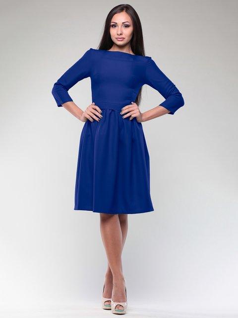 Платье цвета электрик Maurini 1994427