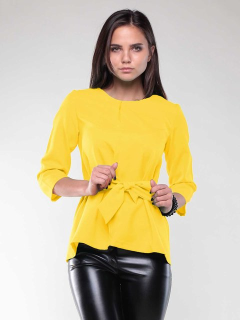 Блуза жовта Rebecca Tatti 1994799