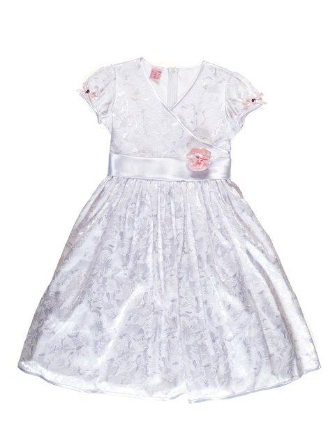 Платье белое с цветочным принтом Anna-S 3343244