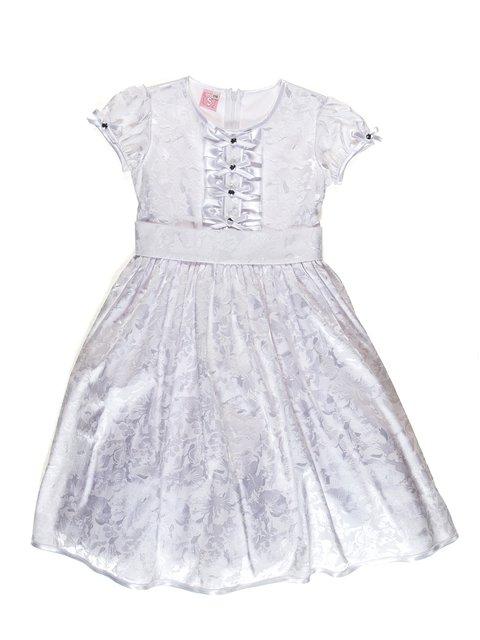 Платье белое с цветочным принтом Anna-S 3342803