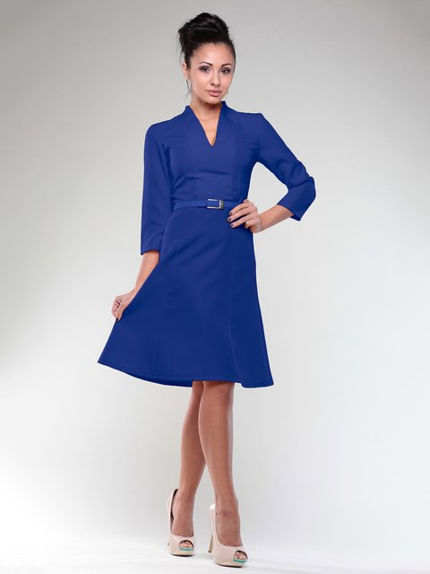 Платье цвета электрик Dioni 2005579