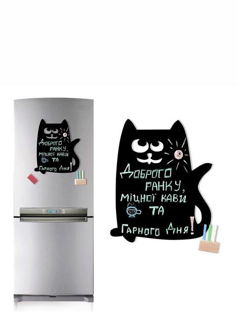 Доска магнитная на холодильник «Кот Ашот» Веселі подарунки 2012224