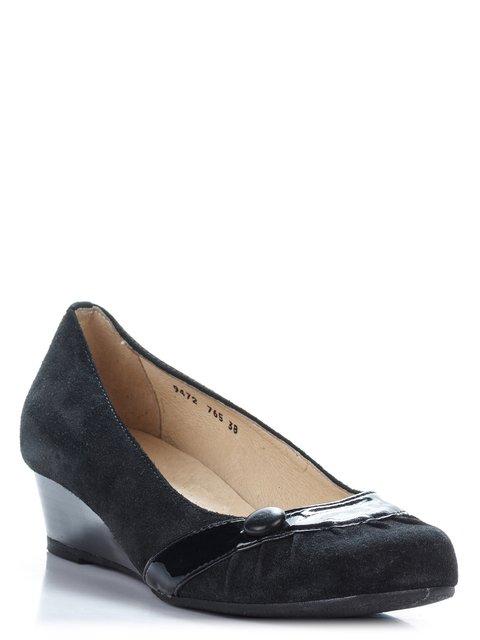 Туфли черные Plato ASP 1792409