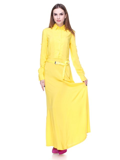 Сукня жовта Laura Bettini 1679560