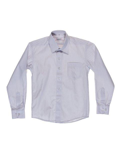 Рубашка серая в полоску Rodeng 2022535