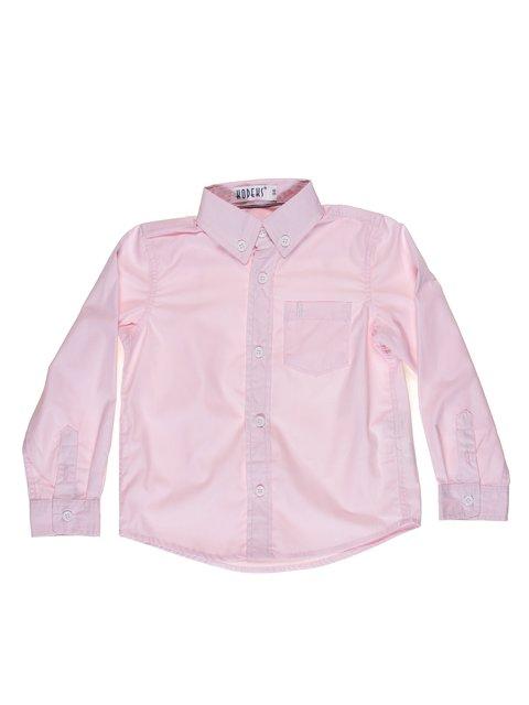 Рубашка розовая в узкую полоску Kodeks 513949