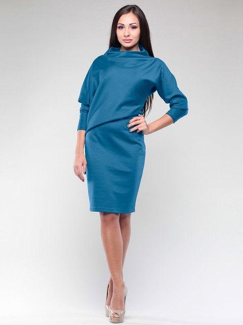 Платье темно-бирюзовое Rebecca Tatti 2029331