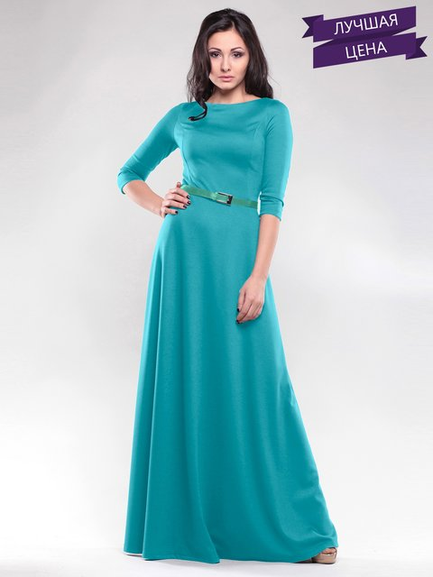 Платье изумрудного цвета Maurini 2045196