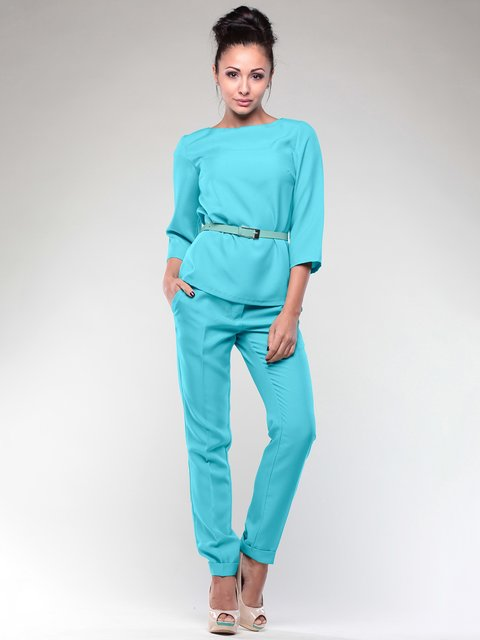 Костюм: блуза и брюки Laura Bettini 2046266