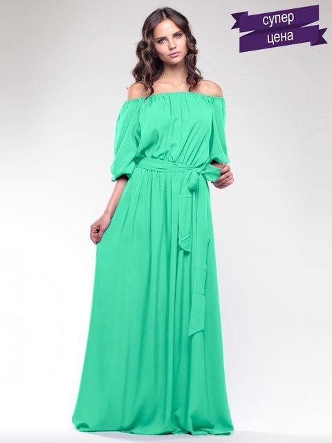 Платье зеленое Dioni 2044971