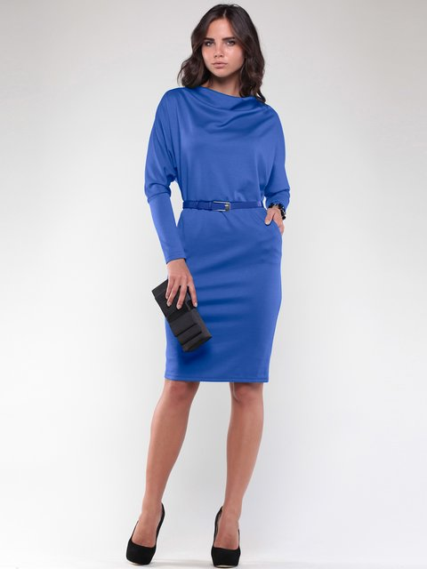 Сукня кольору електрик Laura Bettini 2056860