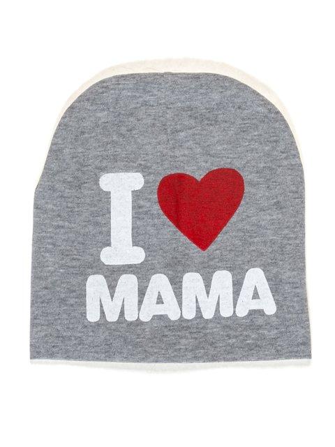 Шапка серая I love mama Bape 2073972