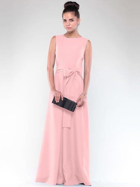 Платье персикового цвета Maurini 2076054