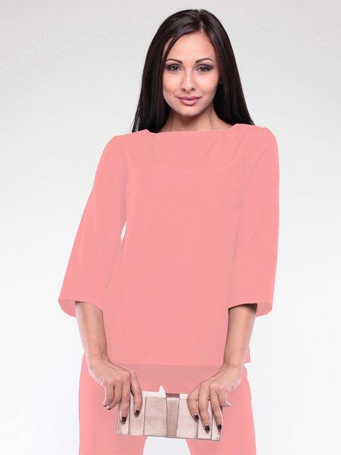 Блуза темно-персикового цвета Laura Bettini 2076007