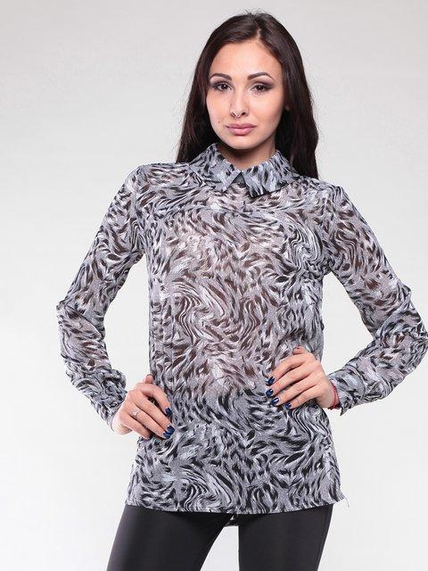 Блуза в принт Maurini 2111058