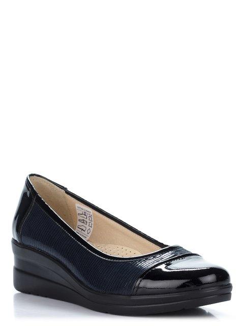 Туфли черно-синие Steizer 2110217