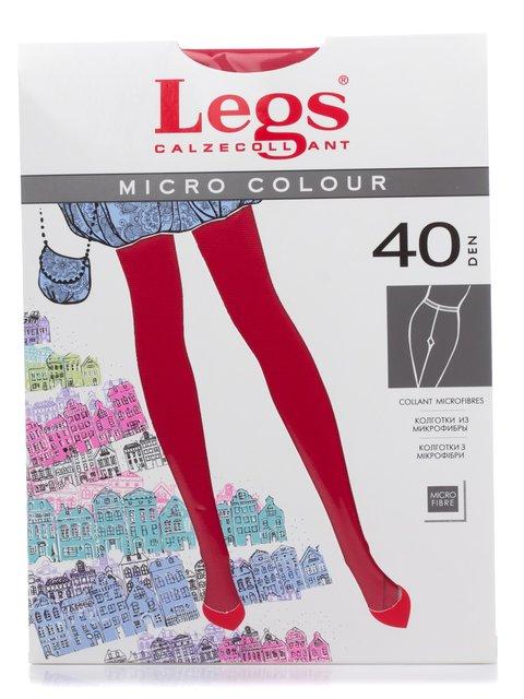 Колготки червоні 40 Den Legs 2108813